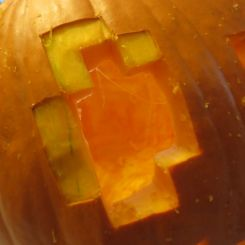 In 8 Pics: The Minecraft Pumpkin, 2013 Edition